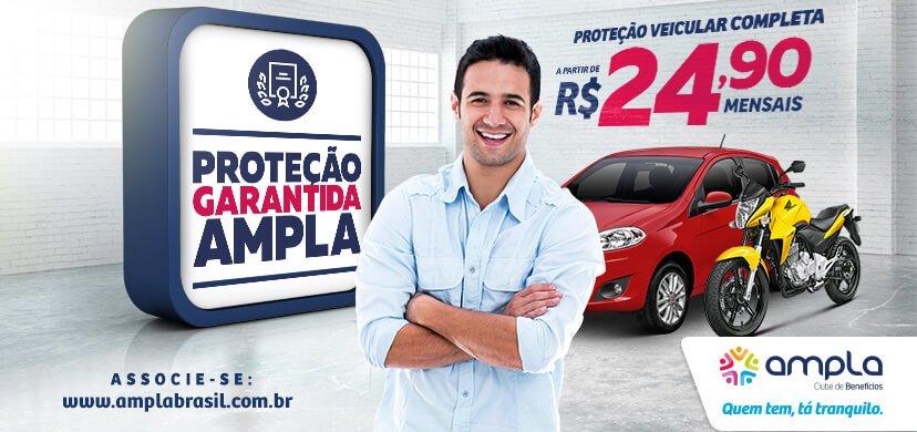 0a3921249c056 Proteção Veicular 24h   AMPLA Brasil